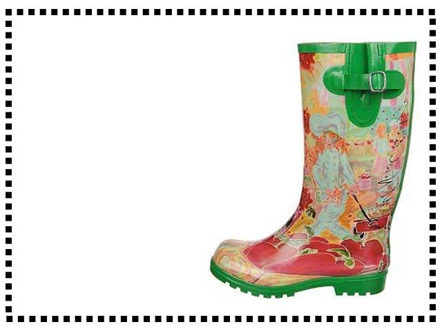 Women's Nomad Artistic Rubber Boots