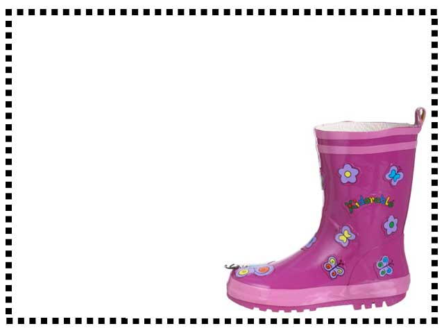 Butterfly Waterproof Boots
