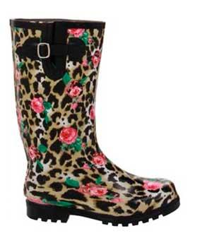 Leopard-and-rose-print-rain-boots