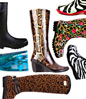 a-collection-of-animal-print-rain-boots
