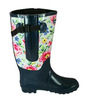 Floral-extra-wide-rain-boots