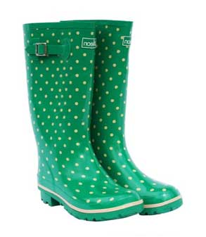 Green-spotted-wide-rainboots