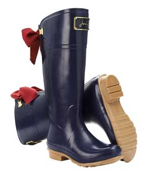 Joules Evedon Navy wellie boot