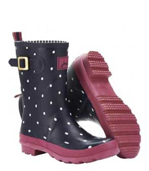 Joules polka dot mollywelly