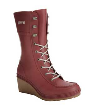 Lace Up Rain Boots For Women