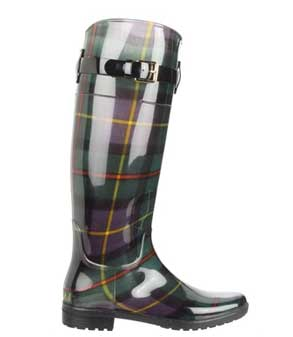 Ralph Lauren Plaid rain boots