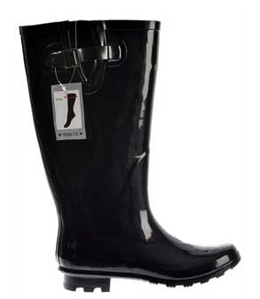 Wide width rain boots made by onlineshoe