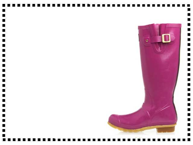 Joules Glossy Welly